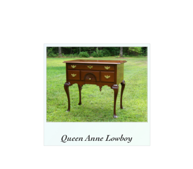 Mahogany Lowboy Dressing table