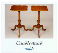 Reproduction Candle Stand Side Table