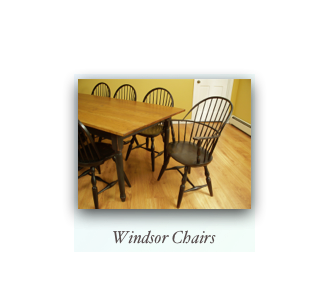 Windsor Chairs and Farm Table Colonial Chairs and Tables 18th Century Furniture