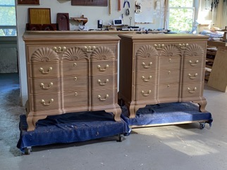 Custom Made Mahogany End Tables Nightstands Bedside tables