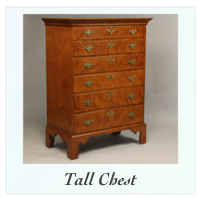 Handmade New England Chest of Drawers