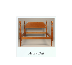 Reproduction Acorn Bed